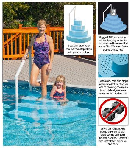 Best 25 Pool Steps Ideas On Pinterest Above Ground Pool