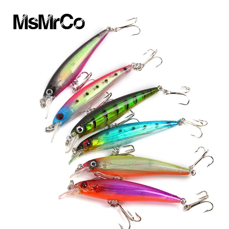 1PCS 6color new Minnow 7.5cm 5g fishing lure artificial crankbait hard bait outdoor swim baits lifelike wobbler fishing tackle  Price: US $0.95Discount: 48%Order Now   http://gonefishinonline.co.nz/1pcs-6color-new-minnow-7-5cm-5g-fishing-lure-artificial-crankbait-hard-bait-outdoor-swim-baits-lifelike-wobbler-fishing-tackle/
