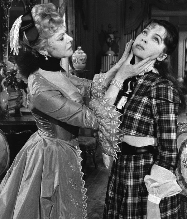 """Aunt Alicia (Isabel Jeans) to Gigi (Leslie Caron): """"Bad table manners, my dear Gigi, have broken up more households than infidelity."""" -- from Gigi (1958) directed by Vincente Minnelli"""