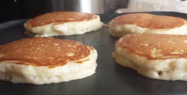 how to make fluffy pancakes from scratch without baking powder