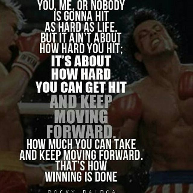 Top 100 rocky quotes photos Rocky Wisdom of the Day... #rocky #neversaydie #rockyquotes