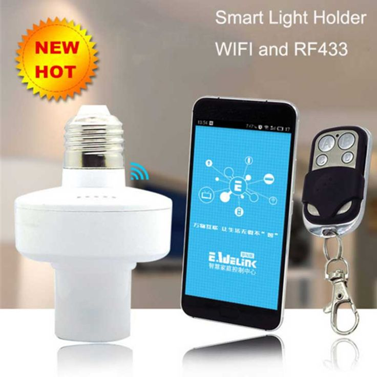 Best Click to Buy uc uc Itead Sonoff E Wireless light Bulbs Holder Slampher MHz