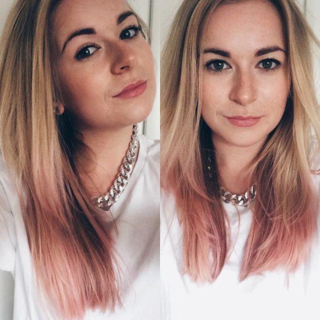 Rose Gold Hair....love!