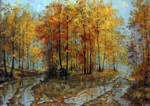 Картины (живопись) : Теплая осень