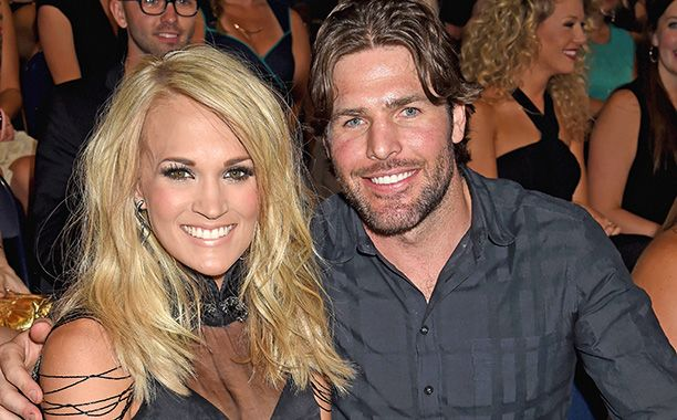 Carrie Underwood's house is pretty much Garth Brooks fan club HQ, but her husband, NHL player Mike Fisher, managed to make her green with fangirl...