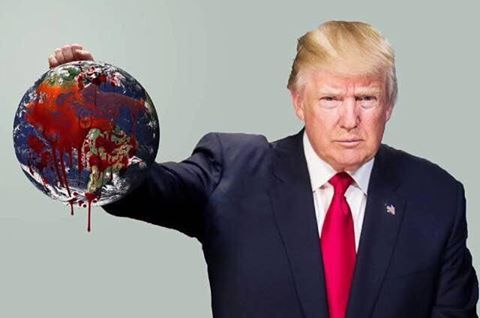 To hell with the planet!  Donald Trump is implementing policies that are killing our environment and America is focused on a bad publicity stunt?!