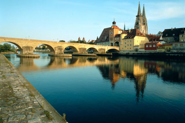 (Regensburg Tourismus GmbH) Alternative European Cities For Unusual Breaks: Regensburg, Germany there are two thousand years of history in the southern Germany's Bavarian city. The 850-year-old Stone Bridge is a medieval masterpiece at 330 metres long and is the oldest preserved stone bridge in the country. For a trip to remember, take a guided tour through the Prince Thurn and Taxis Palace Museum displaying history dating back to the 12th century, eat at the oldest sausage kitchen in the…