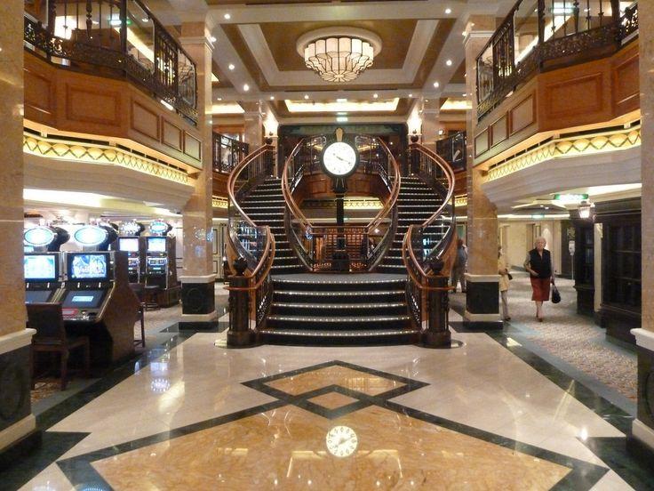 Royal Arcade on Cunard Queen Elizabeth Cruise Ship