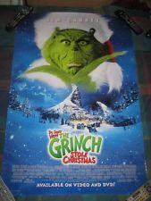 How the Grinch Stole Christmas (2000) Movie Poster 27x40 Used Anthony Hopkins, Jim Carrey, Jim Meskimen, John Short, Mindy Sterling, Jessica Sara, Christine Baranski, Rachel Winfree, Rance Howard, Josh Ryan Evans, Ron Howard, Mary Stein