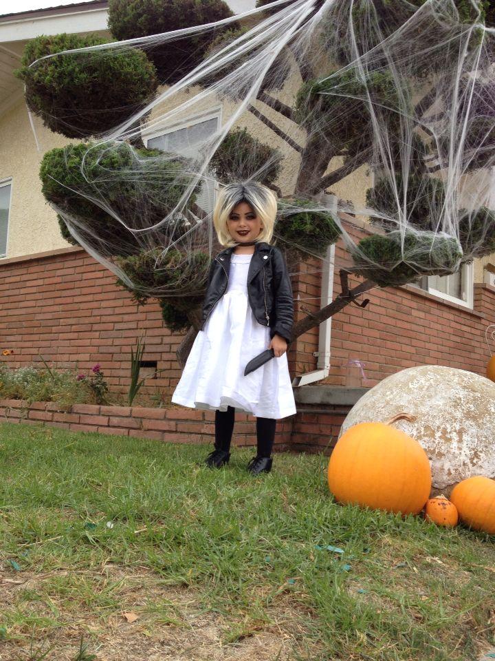 Kids bride of chucky costume