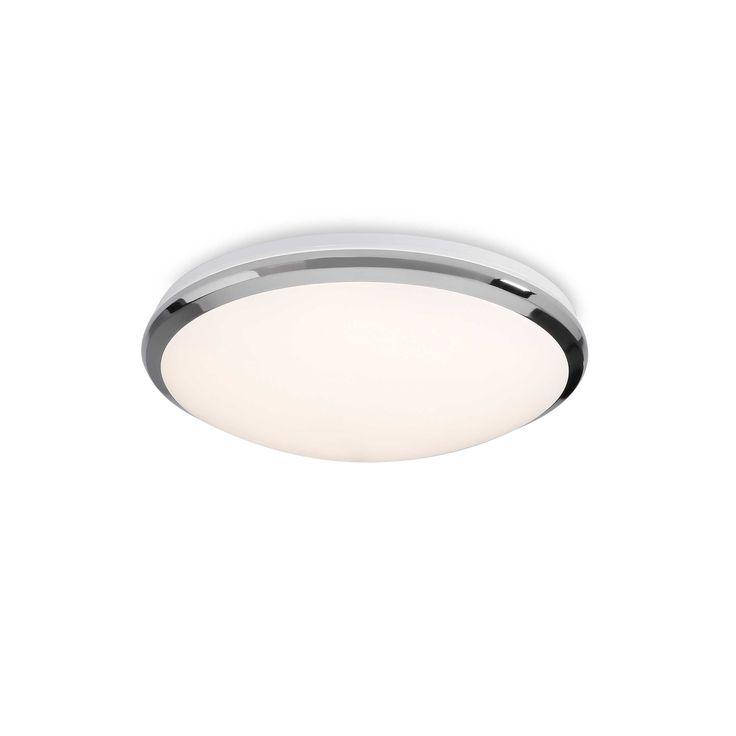 Trio LED-Deckenleuchte A++ Silber Chrom,Alu,Nickel,Stahl
