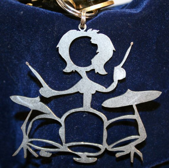 Female Drummers Rock Key Chain on etsy.com #music #drummer #keychain http://www.pinterest.com/TheHitman14/music-paraphernalia/