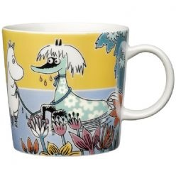 I want this. Arabia #Moomin Mug: Primadonna's Horse from Cloudberry Living, which has cool Scandinavian stuff that I adore.