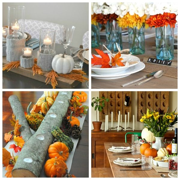 Thanksgiving Decoration Ideas For Table: 1000+ Ideas About Thanksgiving Table Settings On Pinterest