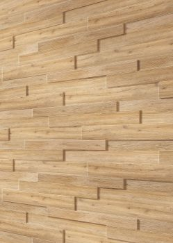 Kransen-Floor der Vinylfußbodenbelag-Experte-MEISTER 3D Systempaneele SP 300 - Eiche rustikal 4083 - Wandpaneele mit 3D-Effekt - in Holz- und Steinoptik für eine besondere Relief-Wandverkleidung