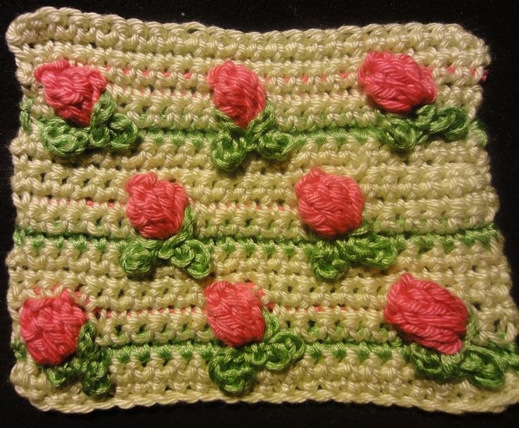63 Best Images About Crochet Tulips On Pinterest