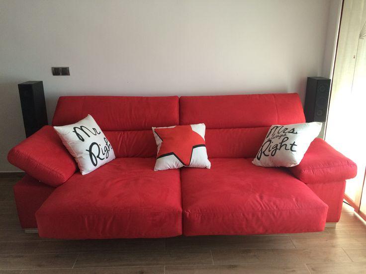Mejores 12 im genes de sof s rojos en pinterest sof for Sofa cama bonitos