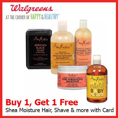 SheaMoisture Raw Shea Butter Moisture Retention Shampoo at Walgreens. Get free shipping at $35 and view promotions and reviews for SheaMoisture Raw Shea Butter Moisture Retention Shampoo Buy 1, Get 1 50% OFF - Mix & Match Buy the product above and one from this list, and get the lesser-priced item 50% OFF Shea Butter: Deeply moisturizes /5().