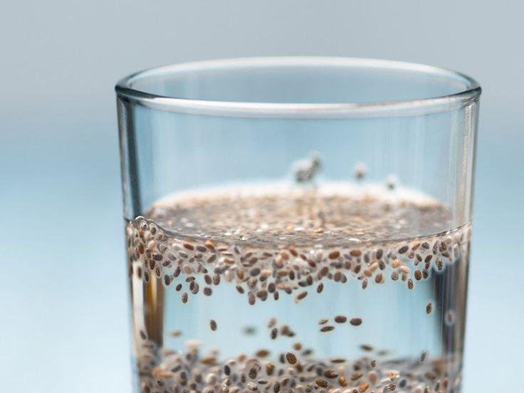 Superfood meets Infused Water: Chia-Wasser ist der leckerste Diät-Drink