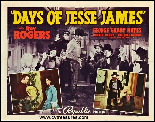 ROY ROGERS DAYS OF JESSE JAMES Details