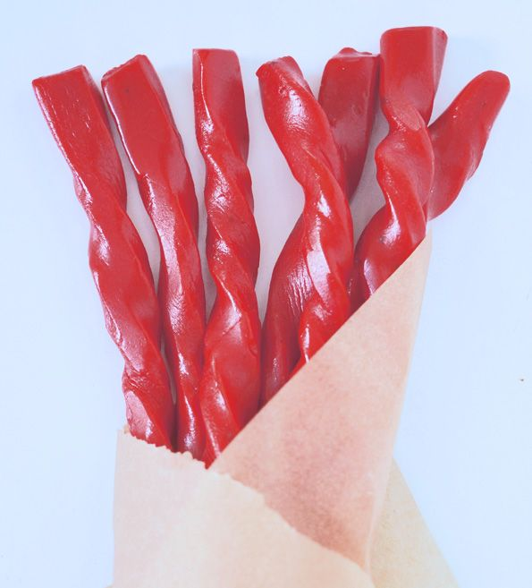OMG Gluten Free Red Cherry Licorice! Totally making this, I haven't had licorice since I was diagnosed with celiac disease (via Gluten-Free on a Shoestring).
