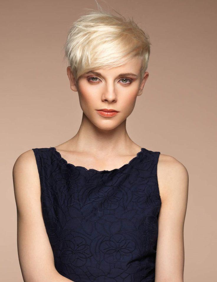 coupe courte femme 2017 pour cheveux ondulés en chatain