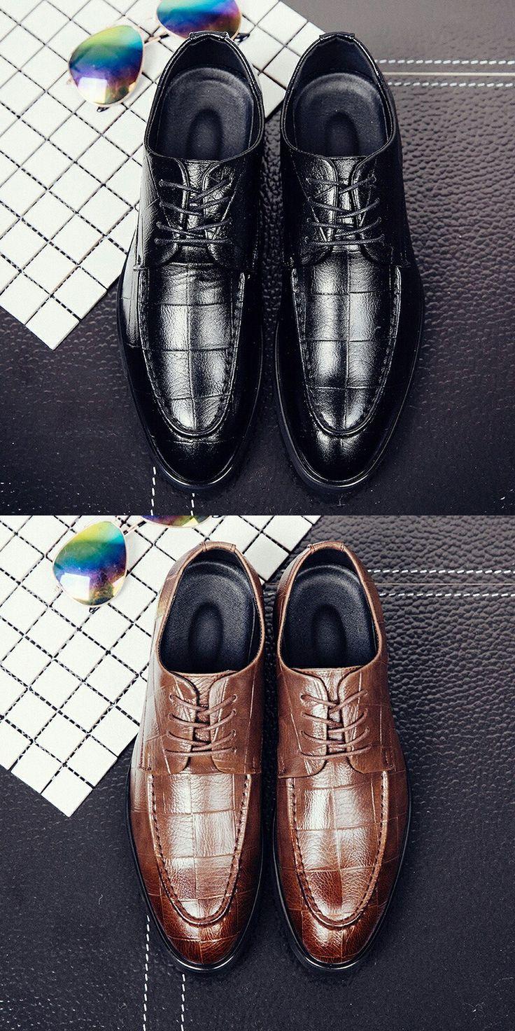 $24.48 <Click to buy> Bullock Business Dress Men Brogues Shoes