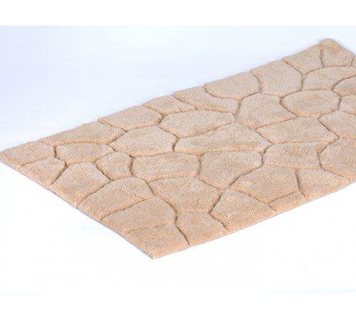 Stone 2 Piece Bath Mat Set Irya Heimtextilien Größe: 60 x 100 cm + 45 x 60 cm, Farbe: Beige