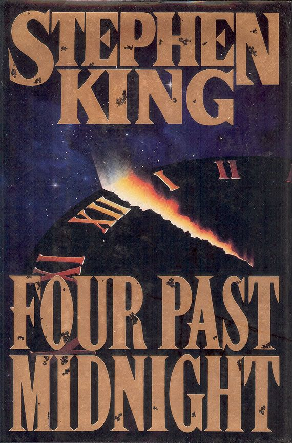 """Vintage Collectibles Stephen King's """"Four Past Midnight"""" book, 761 pages of suspense, horror, and mystery. Stephen King and his wife, the novelist Tabitha King, live in Bangor, Maine. His first novel, """"Carrie,"""" was published in 1974, and the 1980s saw him become America's bestselling writer of fictions. He's glad to be held over into the new decade, and century by NookCove, $5.34"""