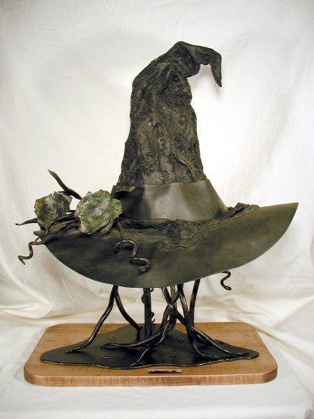 Witches Hat [cloth or acrylic felt brim version]
