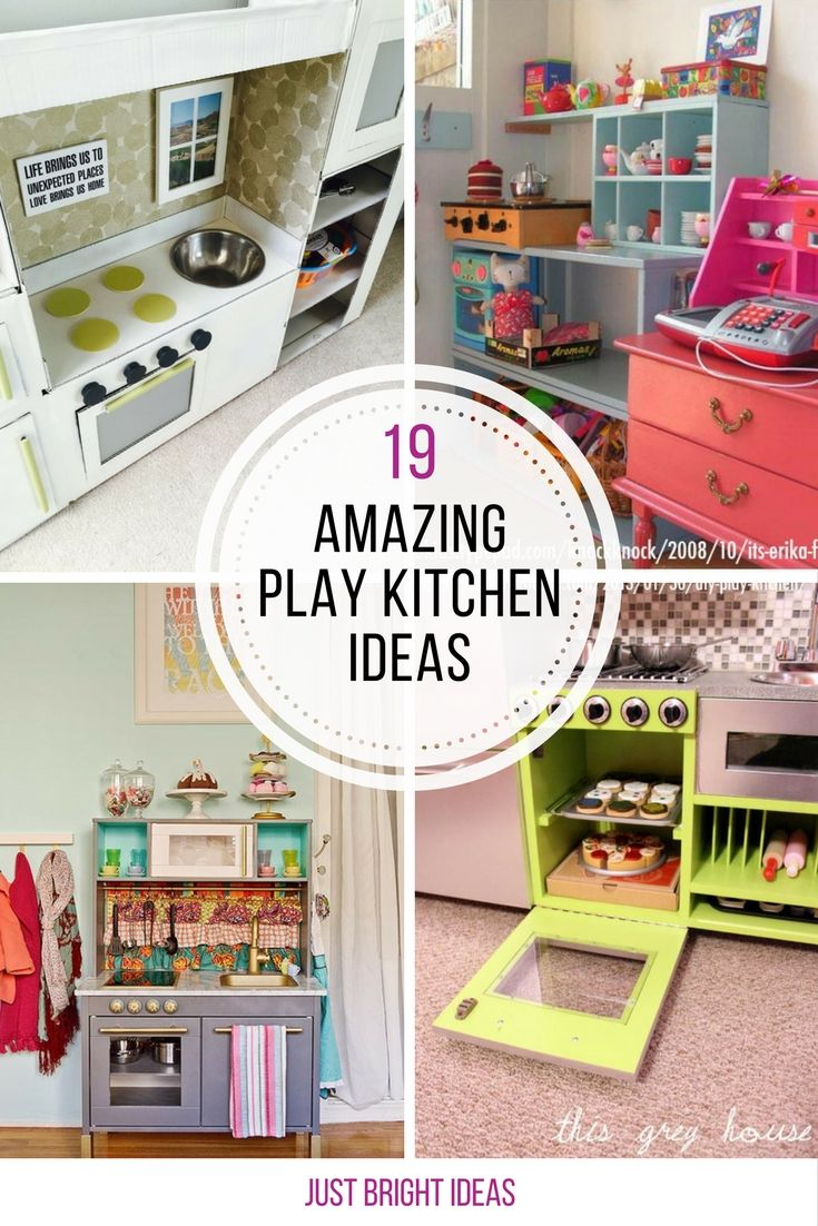 WOW these DIY play kitchens are amazing! Thanks for sharing!