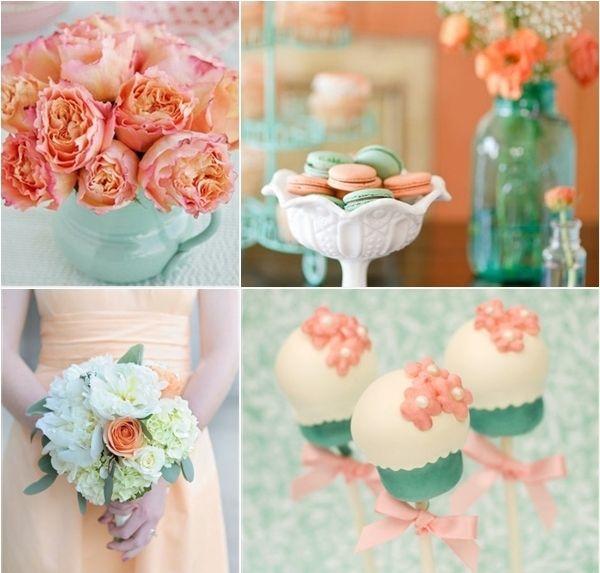 25+ Best Ideas About Mint Coral Weddings On Pinterest