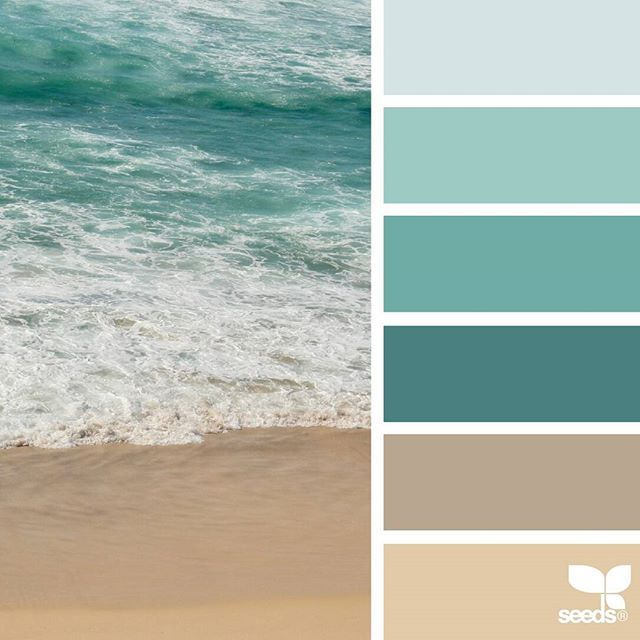 today's inspiration image for { color shore } is by @thebungalow22 ... thank you, Steph, for another fantastic #SeedsColor image share!