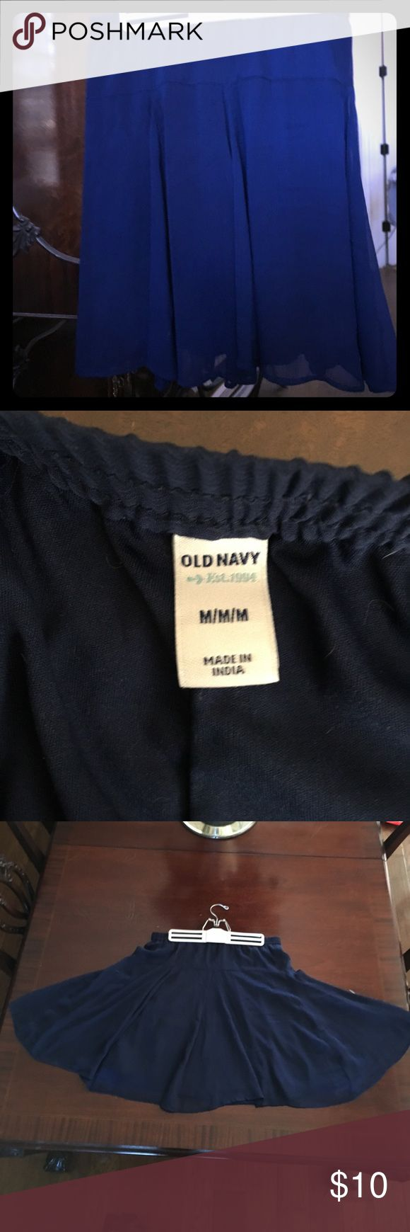 NWOT Old Navy Skirt Fully lined flowy gathered skirt.   100% polyester Skirts Circle & Skater