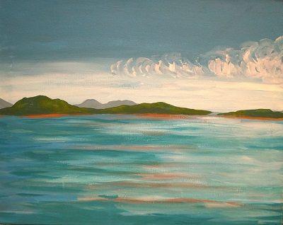 The Islands by Beki Borman   Splash Studio Painting