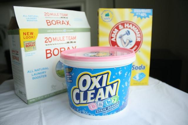 DIY - Recipe for cloth diaper laundry soap