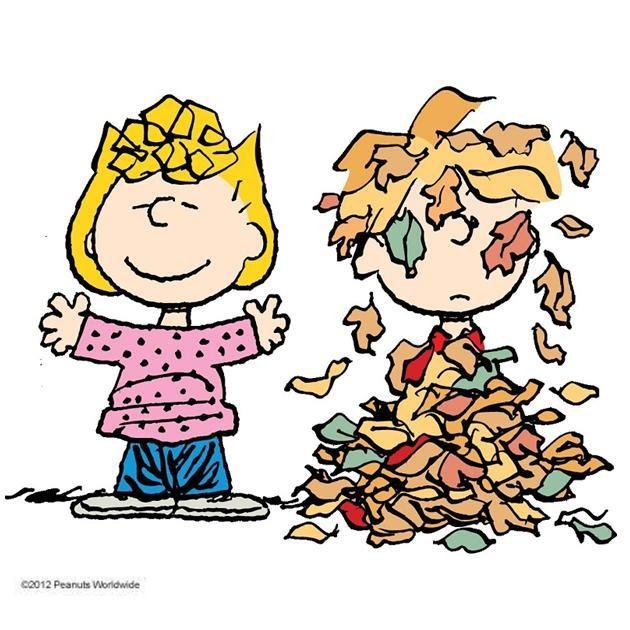 peanuts celebrating the fall season - Charlie Brown Halloween Cartoon