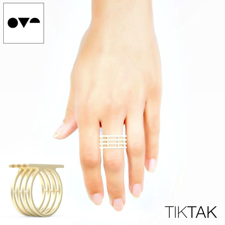 TIK TAK RING Stilnest - now on sale https://stilnest.com/en/tik-tak.html?attr_173=45