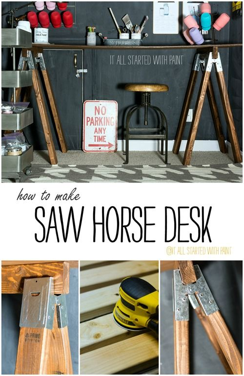 1000 Ideas About Saw Horses On Pinterest Workbenches