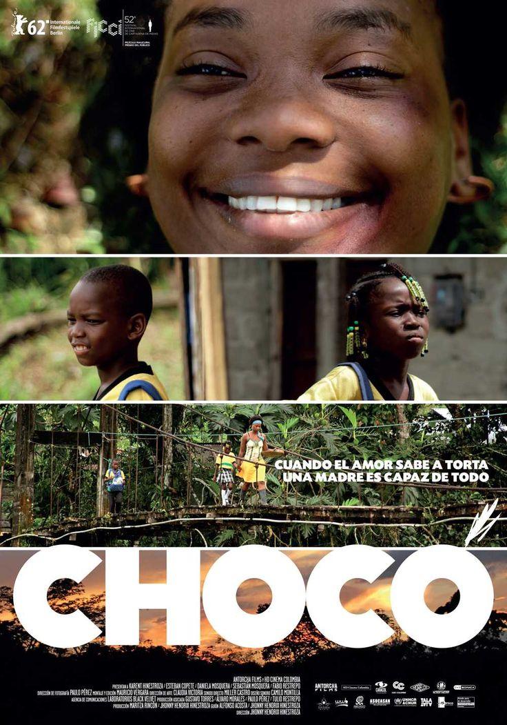 Diseño de Afiche para la película Chocó, un diseño Mottif, en asocio con Laboratorios Black Velvet
