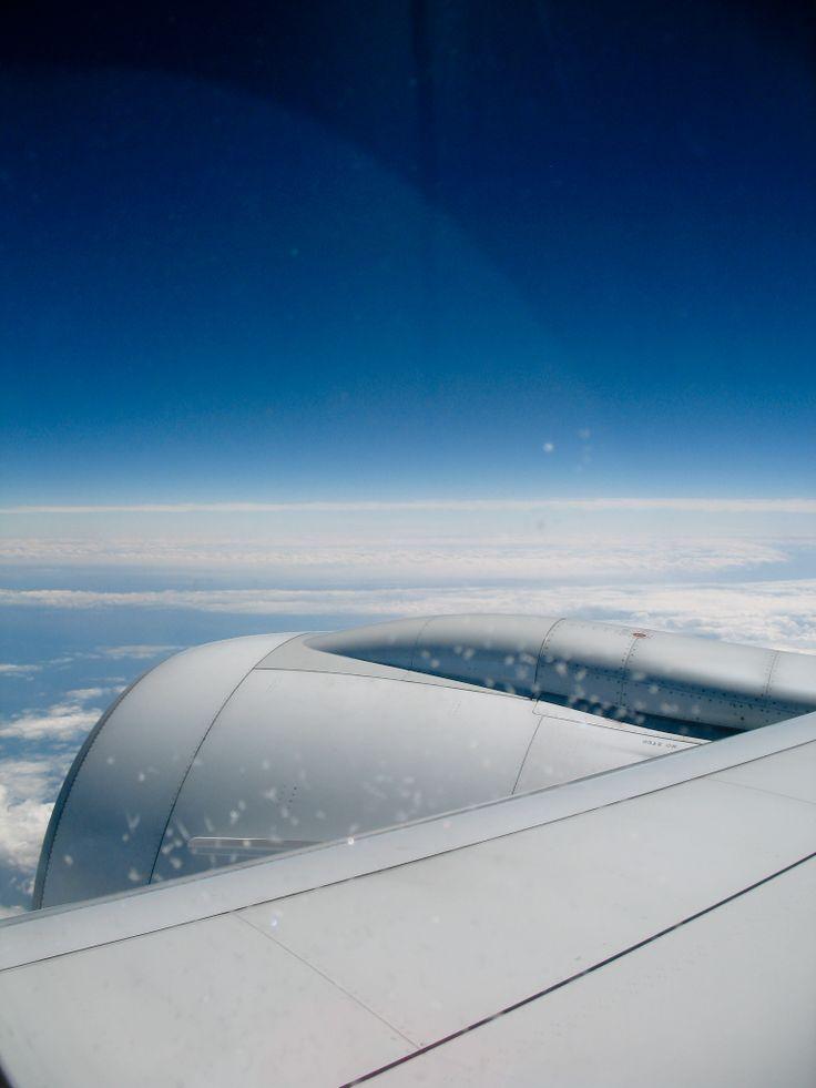 Volando de #Holanda a #Alemania #KLM =)