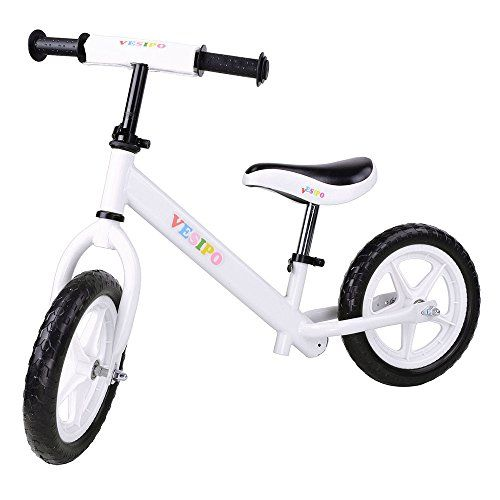 Kids' Balance Bikes - AW White 12 Kid Balance Bicycle Children Sport Exercise Bike For Ages 3 Boys Girls Outdoor * Want to know more, click on the image.