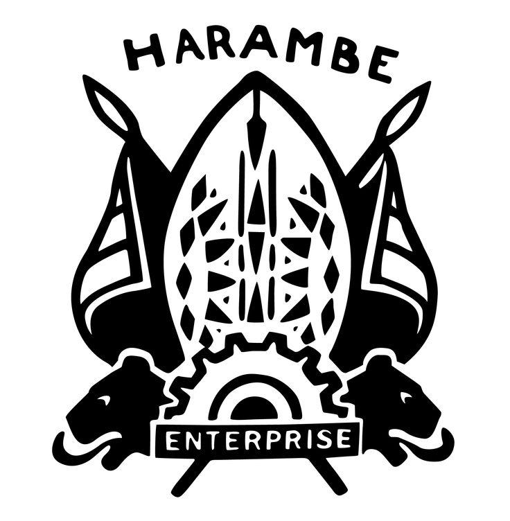 Harambe - Enterprise logo. Harambe, Africa, Disney's Animal Kingdom