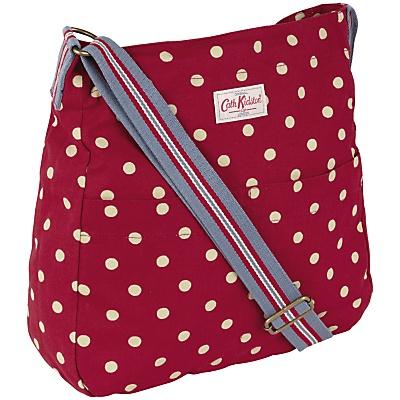 Cath Kidston Spot Washed Messenger Handbag, £40