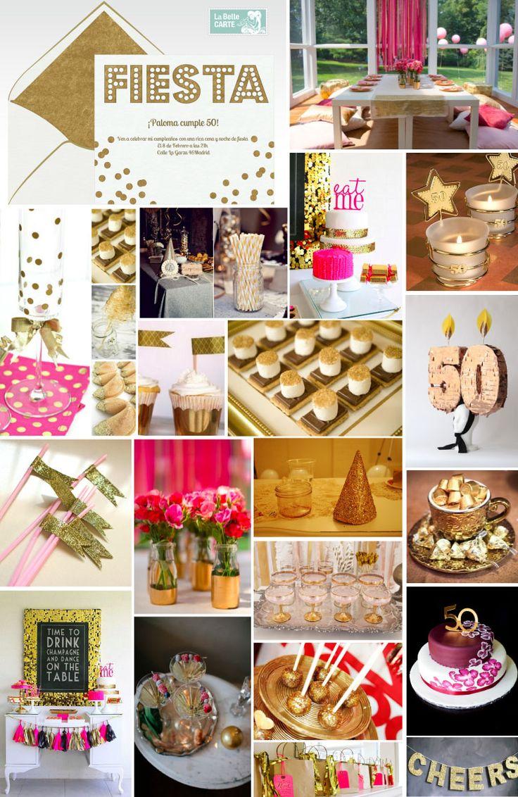 Invitaciones de cumplea os e ideas para celebrar una - Ideas para decorar cumpleanos de adultos ...