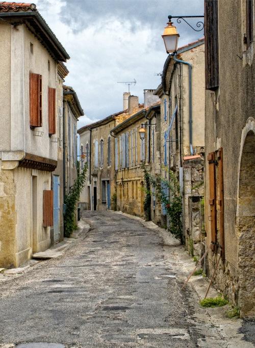 The village Romieu