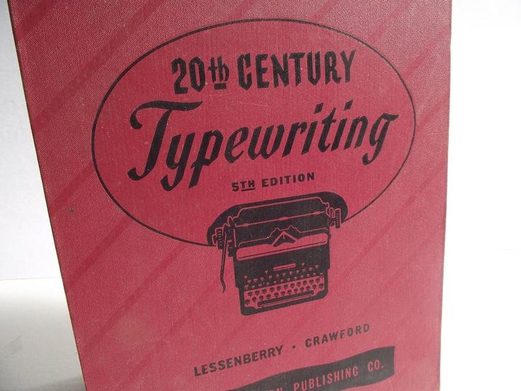 20th Century Typewriting Manual - 1947