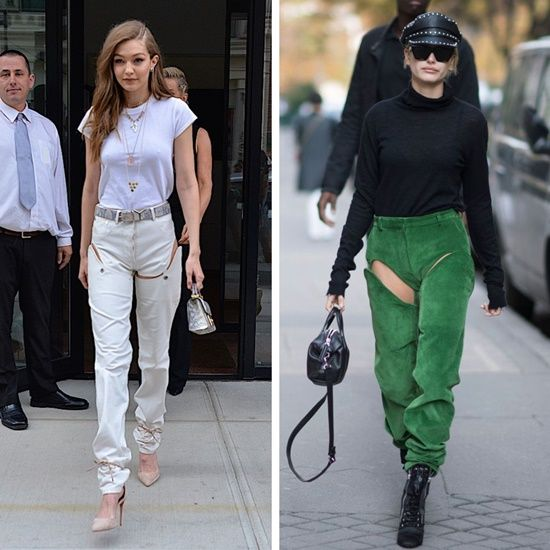 dcf2430ad81 Y/Project, an avant-garde streetwear brand, debuted thigh-high ...
