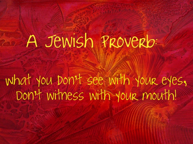 17 Best Images About Yiddish Proverbs On Pinterest