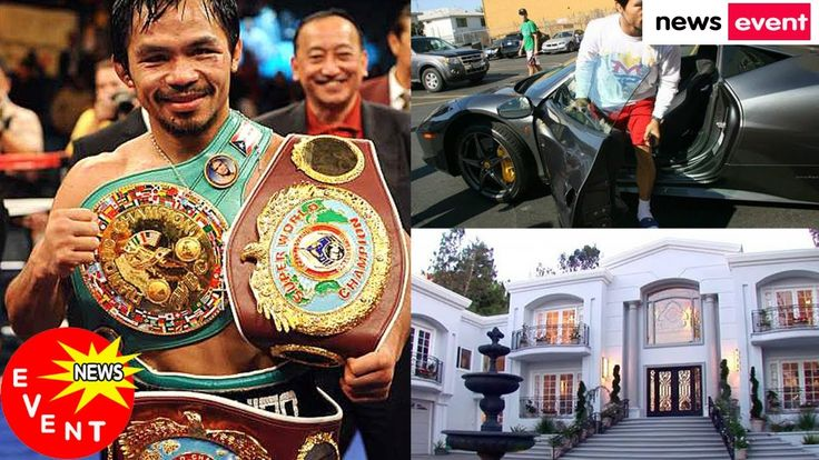 """Here's A Look On How Rich Manny """"Pacman""""Pacquiao Is! Must See Photos Of ..."""